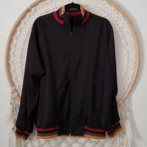 Billabong Wakanda Track Spellout Jacket Size XL
